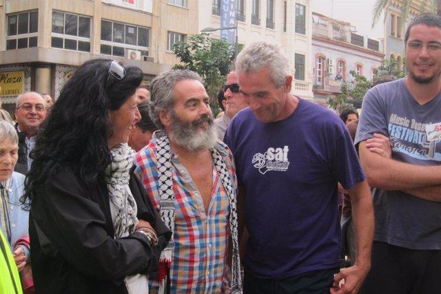Juan Manuel Sánchez Gordillo y Diego Cañamero