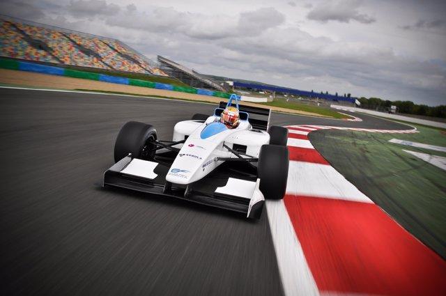 Prototipo para la Fórmula E