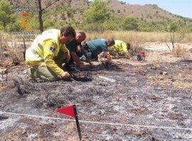 Detenido un extrabajador de Geacam como presunto autor del incendio que afectó a Albacete y Murcia este verano