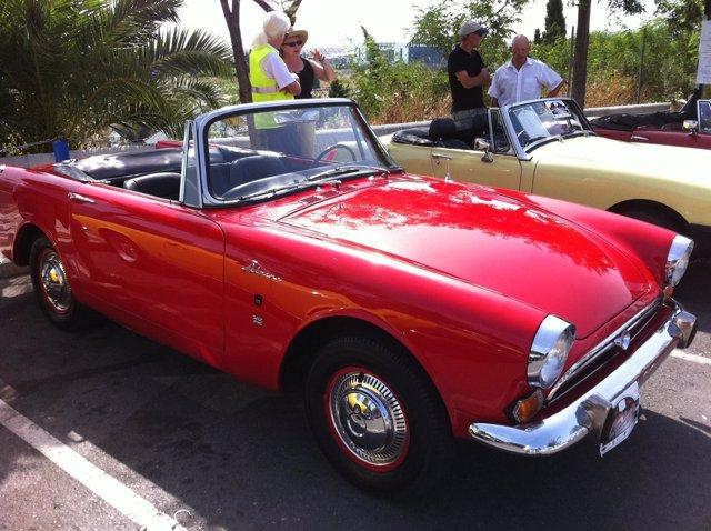 Un coche que se expondrá en el museo automovilistico de Málaga