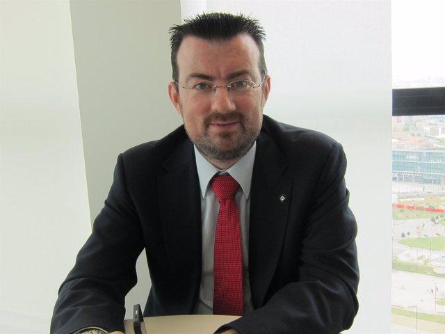 Xavier Martínez, director senior de ventas para España de BlackBerry