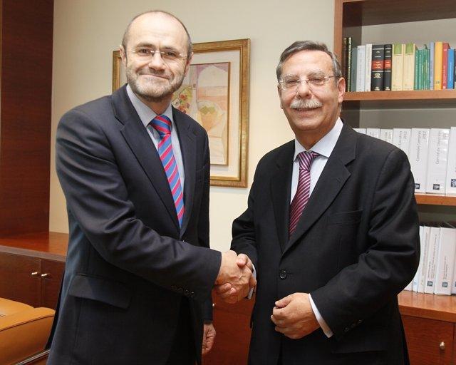 José Folgado Y Luis Atienza