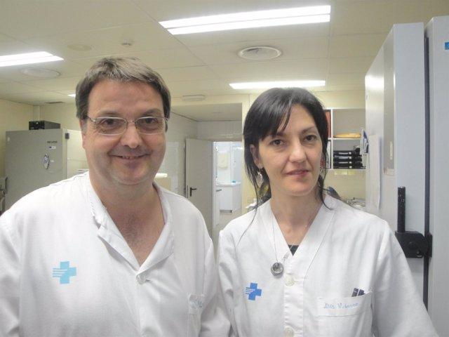 Serafín Morales y Ana Velasco