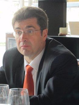 El consejero delegado de Jazztel, José Miguel García