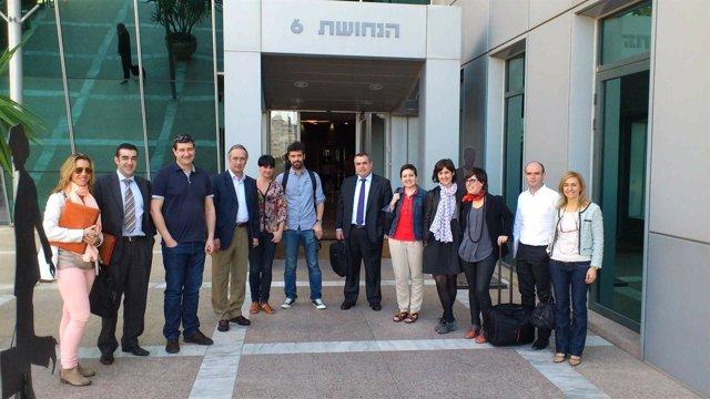 Misión comercial de Eiken en Israel
