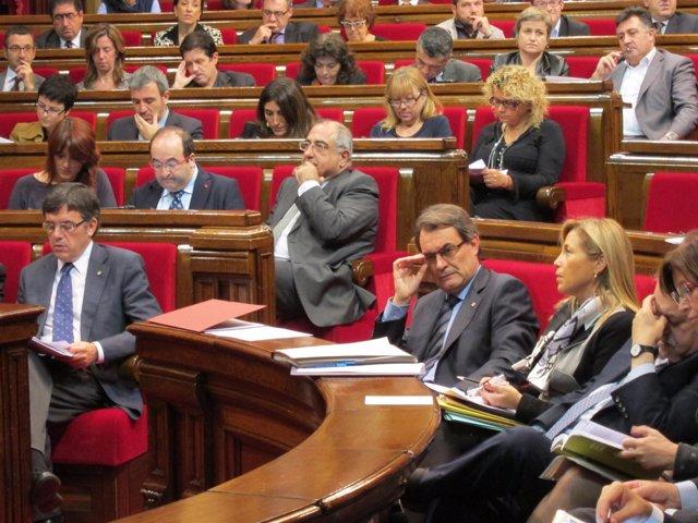 Pleno Del Parlament catalán