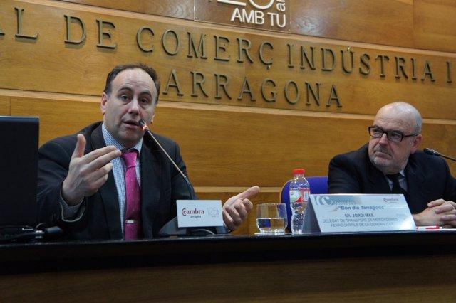 Jordi Mas, delegado de transporte de Mercancías en FGC