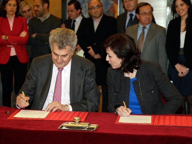 Firma para el busto en el Congreso de Niceto Alcalá Zamora