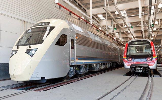 Trenes Que CAF Suministrará A Arabia Saudí