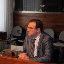 Vicente Hoyos en la Comisión de Investigación del 'Caso Marea'