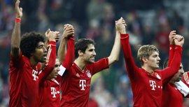 Fútbol.- Bayern Múnich y Stuttgart completan las semifinales de la Copa de Alemania