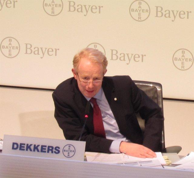 Presidente del consejo de dirección de Bayer, Marijn Dekkers