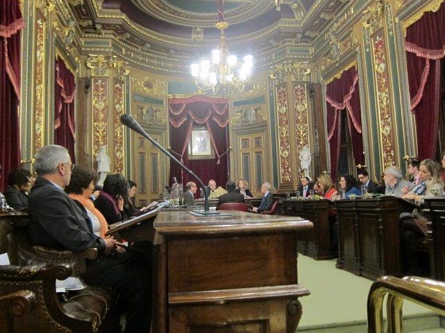 Sesión plenaria en Bilbao.