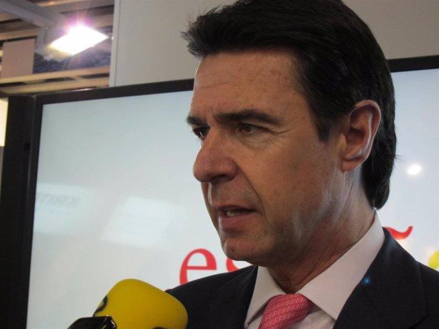José Manuel Soria en el MWC
