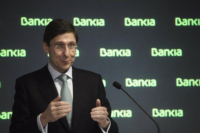 Presidente de Bankia, José Ignacio Goirigolzarri