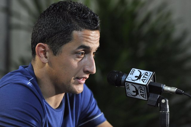 Nicolás Almagro en rueda de prensa