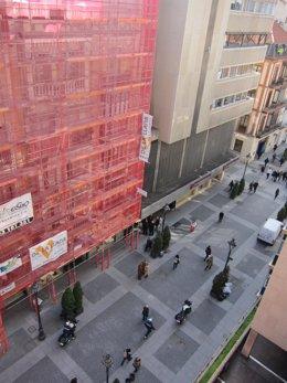 La comercial calle Santiago