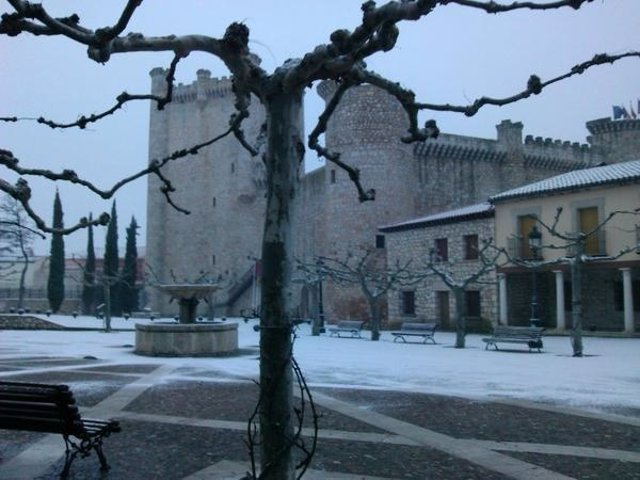 Nieve en Torija, temporal, frío, nevada