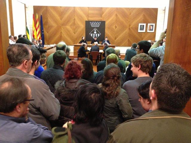 Pleno del Ayuntamiento de Sabadell