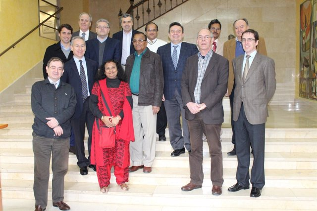 La delegación india visita la CHS
