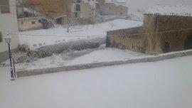Gobernación decreta la emergencia situación uno por nevadas en las comarcas del interior de Castellón
