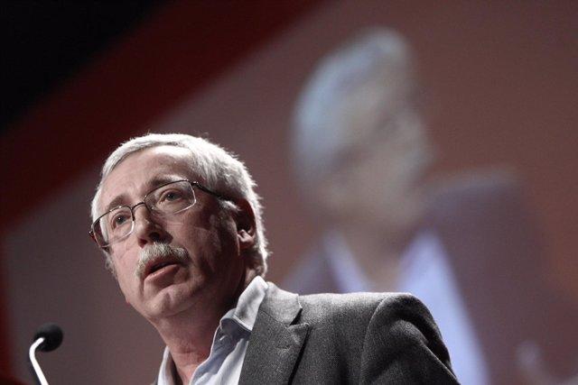 Secretario general de CC.OO., Ignacio Fernández Toxo