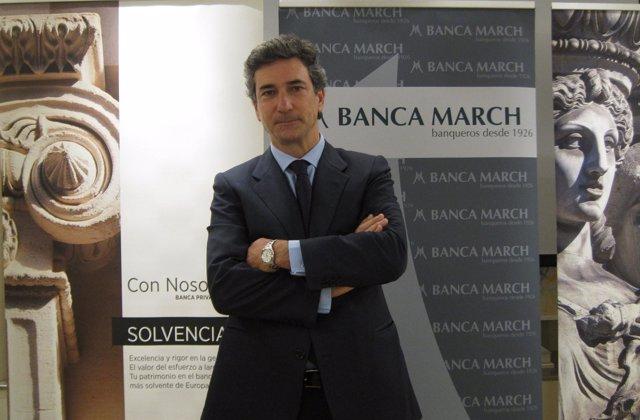 José Nieto, consejero delegado de Banca March