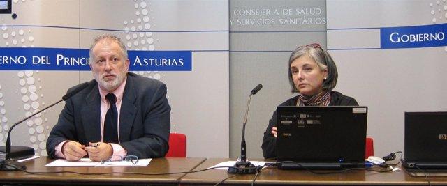 Enrique González Y Laura Muñoz En Rueda De Prensa
