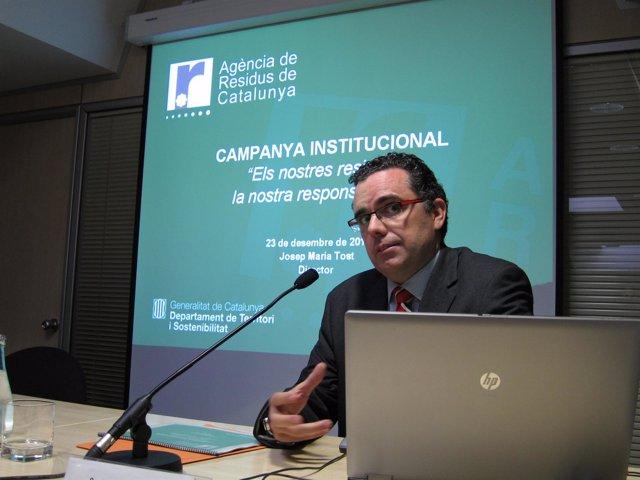 El Director De La ARC, Josep Maria Tost