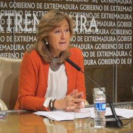 María José Ordóñez, Instituto Mujer Extremadura