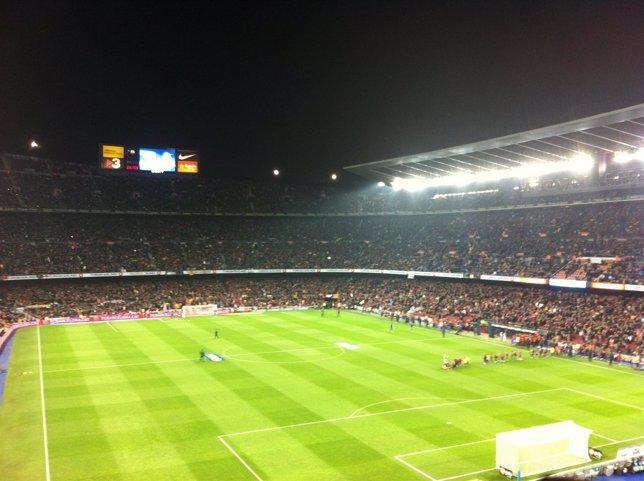 Fotografía de archivo del Camp Nou