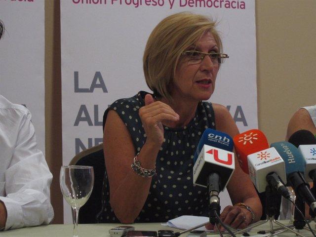 La Candidata De Upyd Al Gobierno, Rosa Díez.