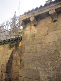 Desperfectos causados por asaltantes en la Catedral de Santiago