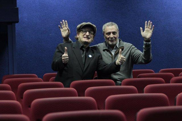 Javier Gurruchaga y Joaquín Kremel
