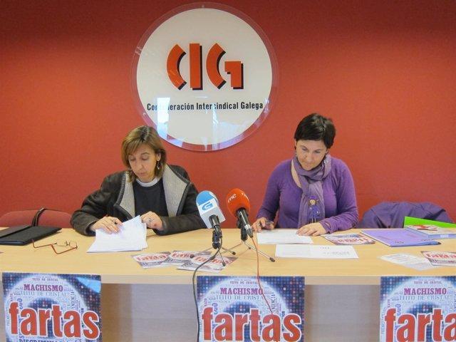 La CIG presenta el informe sobre la situación laboral de la mujer