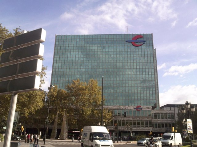 La sede central de Ibercaja