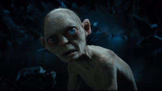 Gollum interpretado por  ANDY SERKIS en El Hobbit