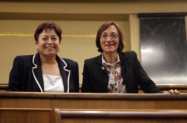 Olaia Fernández Davila Y Rosana Pérez Fernández, Diputadas Del BNG