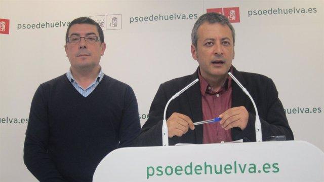 El secretario general del PSOE de Valverde (Huelva), Pedro Domínguez.