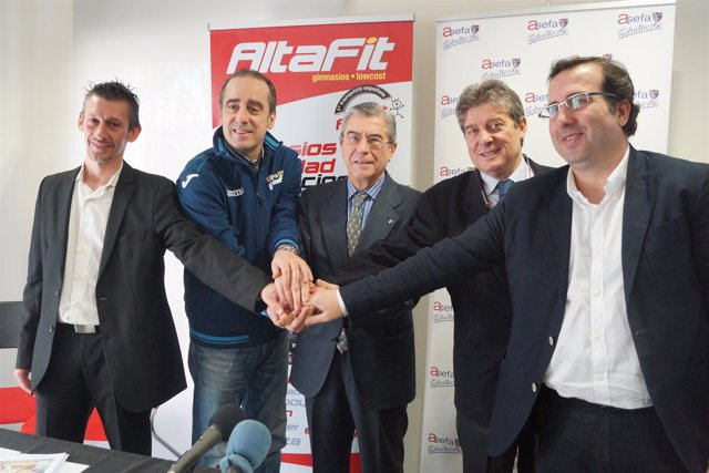 AltaFit Club Asefa Estudiantes Txus Vidorreta Miguel Angel Bufulá