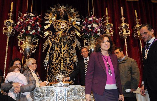 Botella visita a Jesús de Medinaceli
