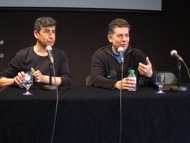 Enrique Cabrera y Francesc Casadesús