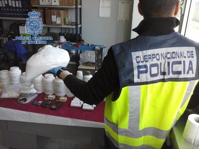 Laboratorio de cocaína en el centro de Granada