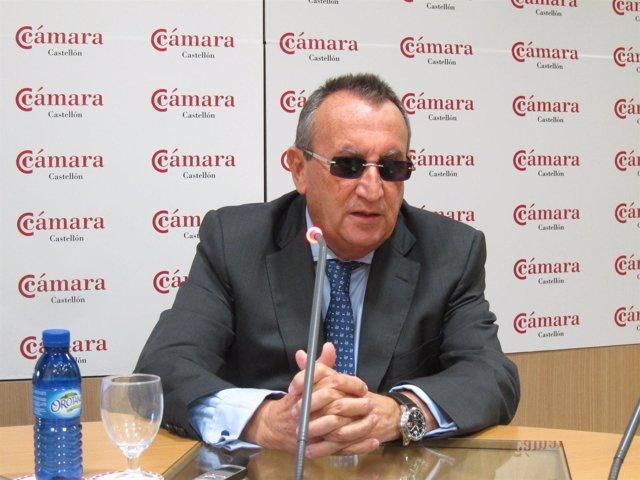 Carlos Fabra en rueda de prensa