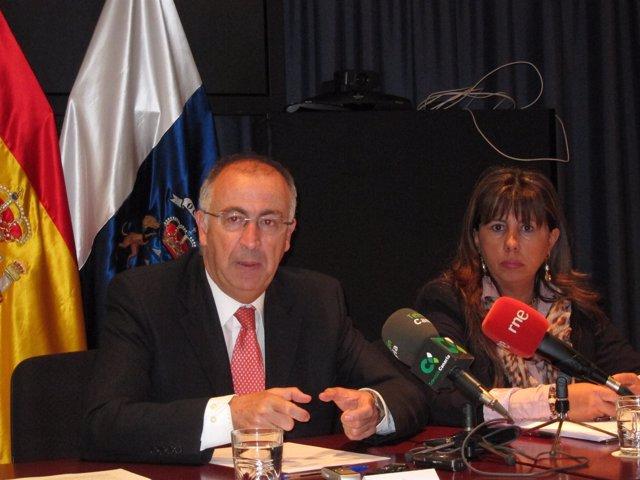 Spínola y Rodríguez Fraga, en rueda de prensa