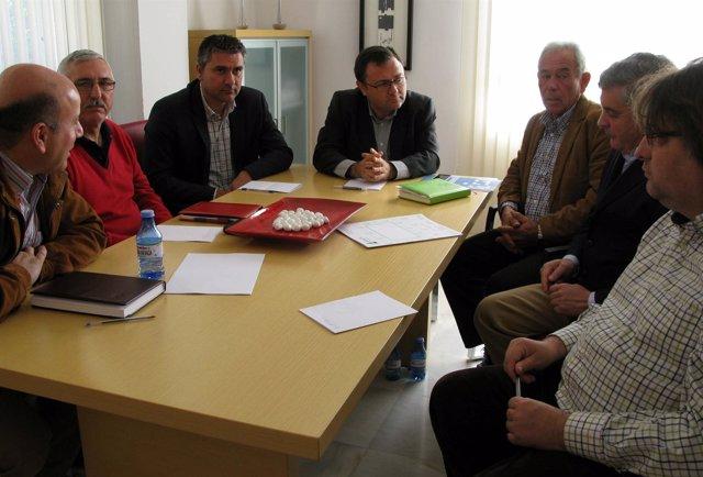 Heredia se reúne con las organizaciones agrarias