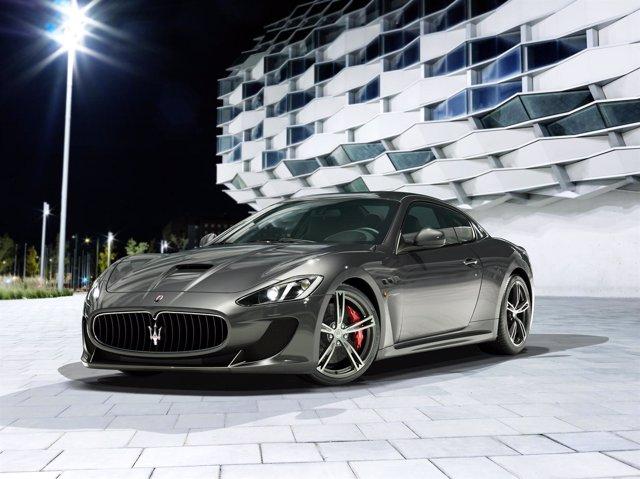 Maserati Granturismo MC Stradale de cuatro plazas