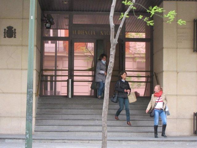 Fachada De La Audiencia Nacional