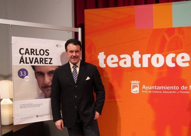 El barítono malagueño Carlos Álvarez