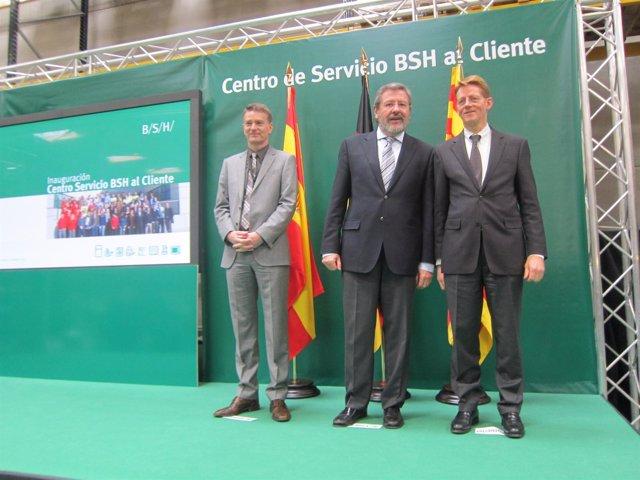 Inauguración del Servicio BSH al Cliente.